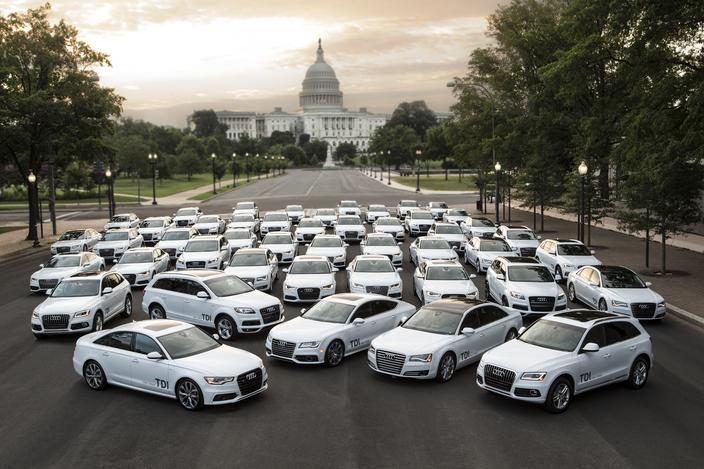 Audi quiere más modelos diesel en EEUU