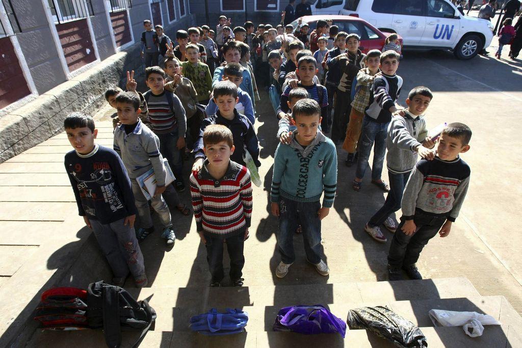 2 millones de niños sirios sin escuela