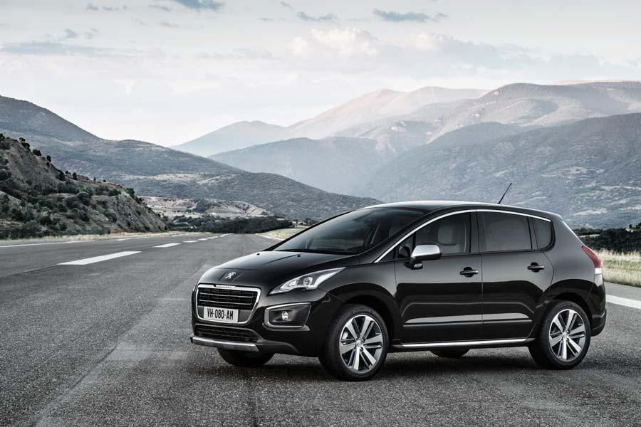 Peugeot presenta más novedades del 3008