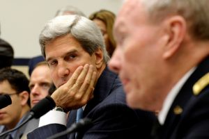 Kerry y Lavrov en busca de solución