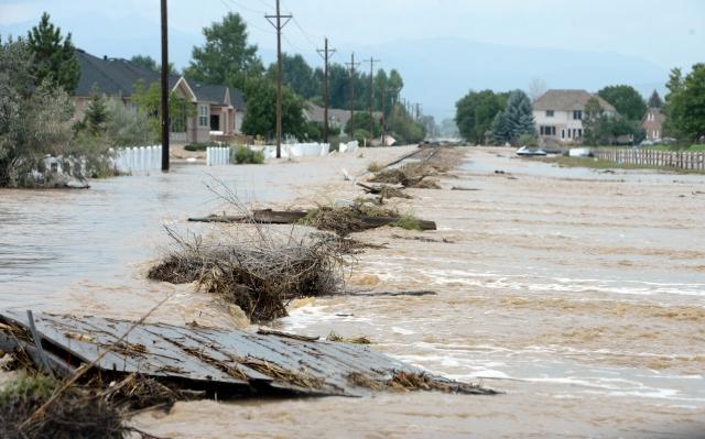Inmensa inundación