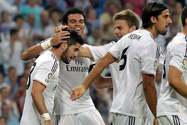 El Real Madrid vence al Getafe 4 -1 (Fotos)