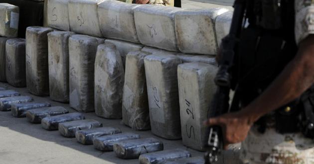 Policía decomisa 2 toneladas de marihuana en Ensenada