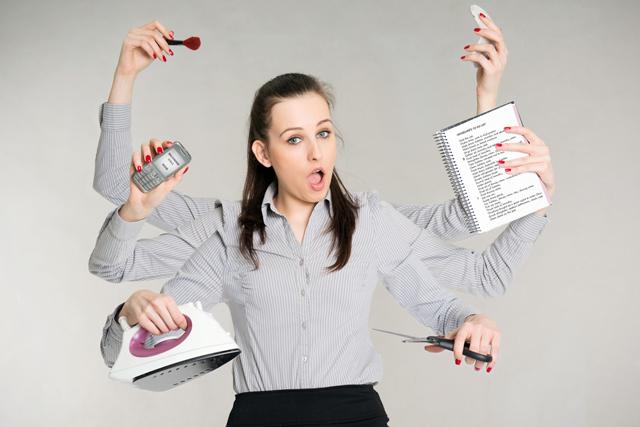 ¿Tienes el síndrome de la mujer orquesta?