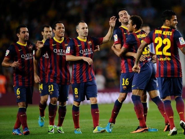 Barcelona golea a Real Sociedad e iguala su mejor inicio (Fotos)