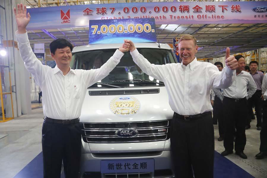 Ford Transit llega a las 7 millones de unidades