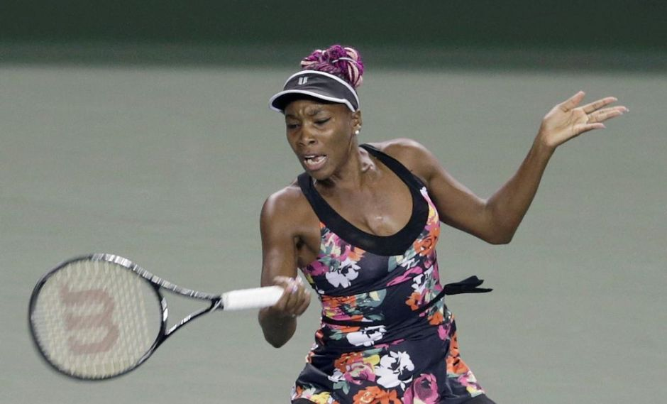 Venus Williams avanza a cuartos de final en Tokio