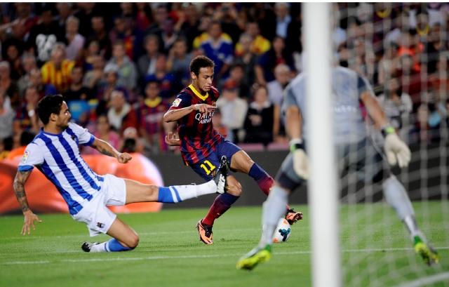 Barcelona: paso perfecto