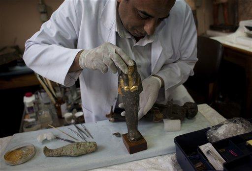 Descubren que momia alemana tenía el cuerpo plástico