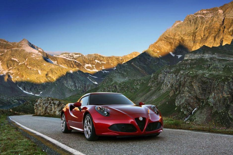 Alfa-Romeo 4C llegará hasta 2014 en Estados Unidos