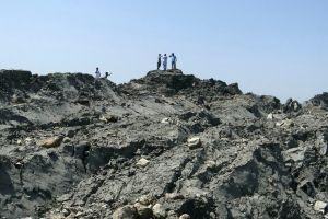 Zalzala Koh llaman a isla que nació del sismo en Pakistán