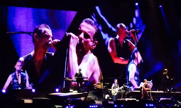 Depeche Mode dio concierto perfecto en LA