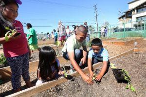 Inauguran jardín comunitario en Sur de Los Ángeles