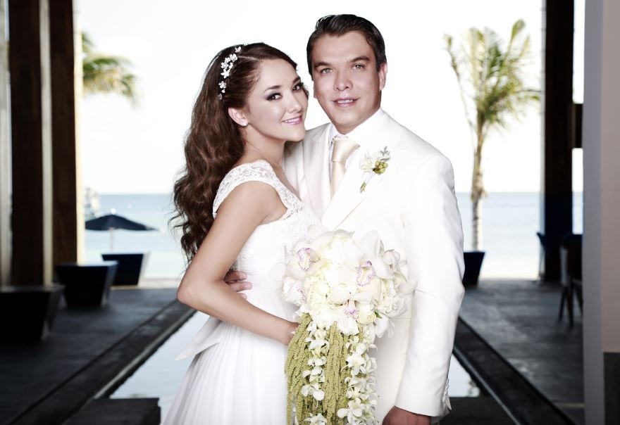 Sherlyn tiene boda soñada en Cancún (fotos)