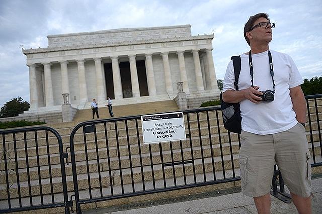 Monumeno de Lincoln siente los efectos del cierre