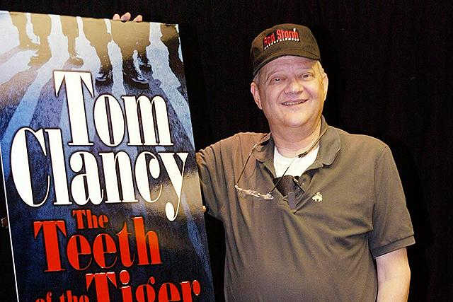 Clancy pasa a la historia como el maestro de los Best Sellers