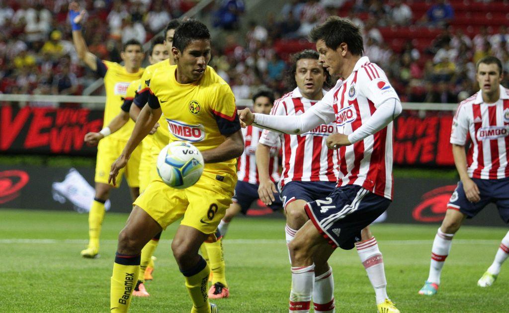 América enfrenta a Chivas en un disparejo clásico
