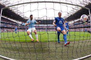 El 'Kun' Aguero y el City sentencian al Everton (Video)