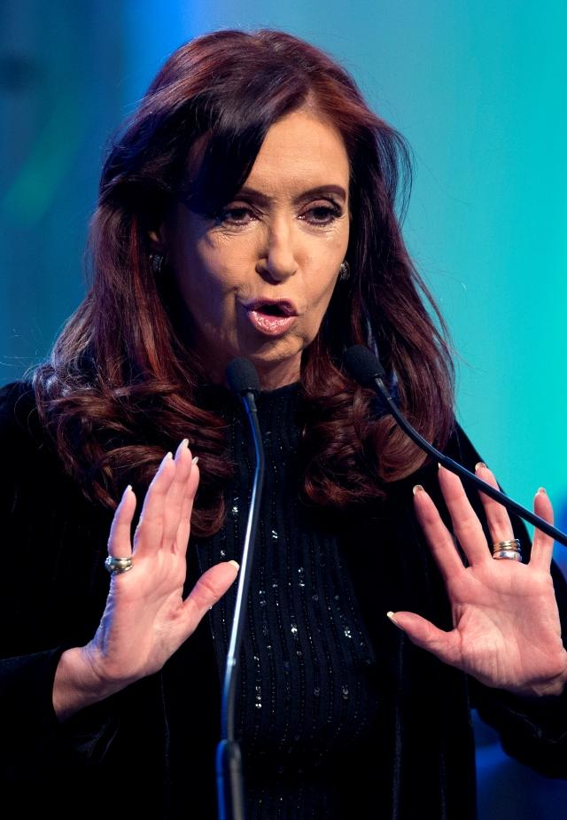 Inquietud por  Cristina Fernández