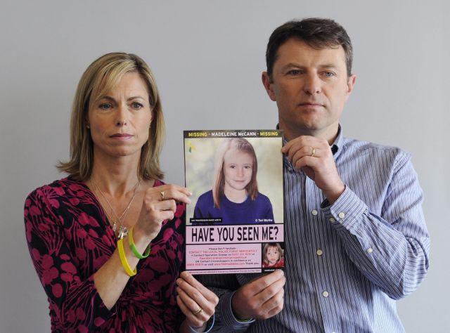 Padres de Madeleine McCann mantienen la esperanza de hallar a su hija