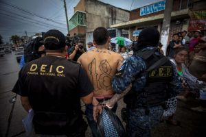 Pandilleros   arrestados por matanza