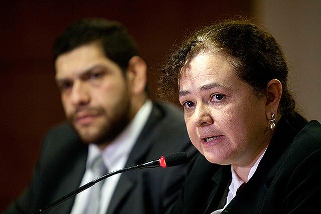 """Paz y Paz fue nominada por su lucha en contra de la """"impunidad"""" en Guatemala."""