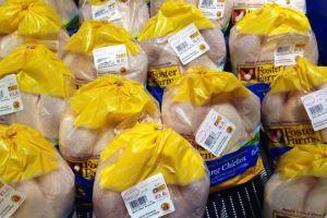 Hay pollos con salmonela en mercados de LA y Orange