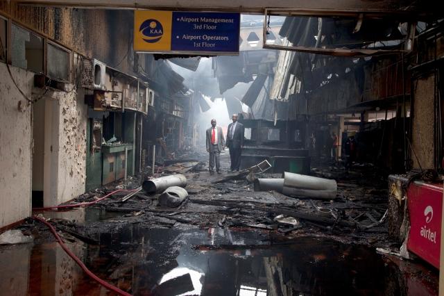 FBI: Incendio    fue un accidente