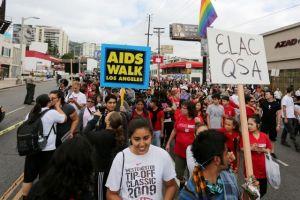 Caminata por el SIDA recauda más de $2 millones en LA
