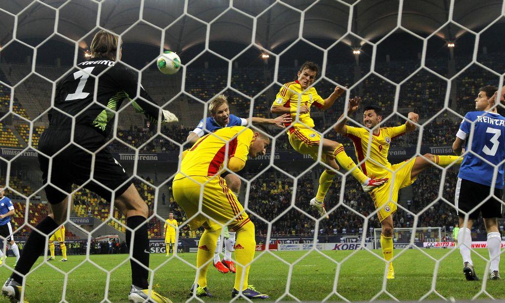 Rumania hizo vibrar a la Arena Nationala de Bucarest.