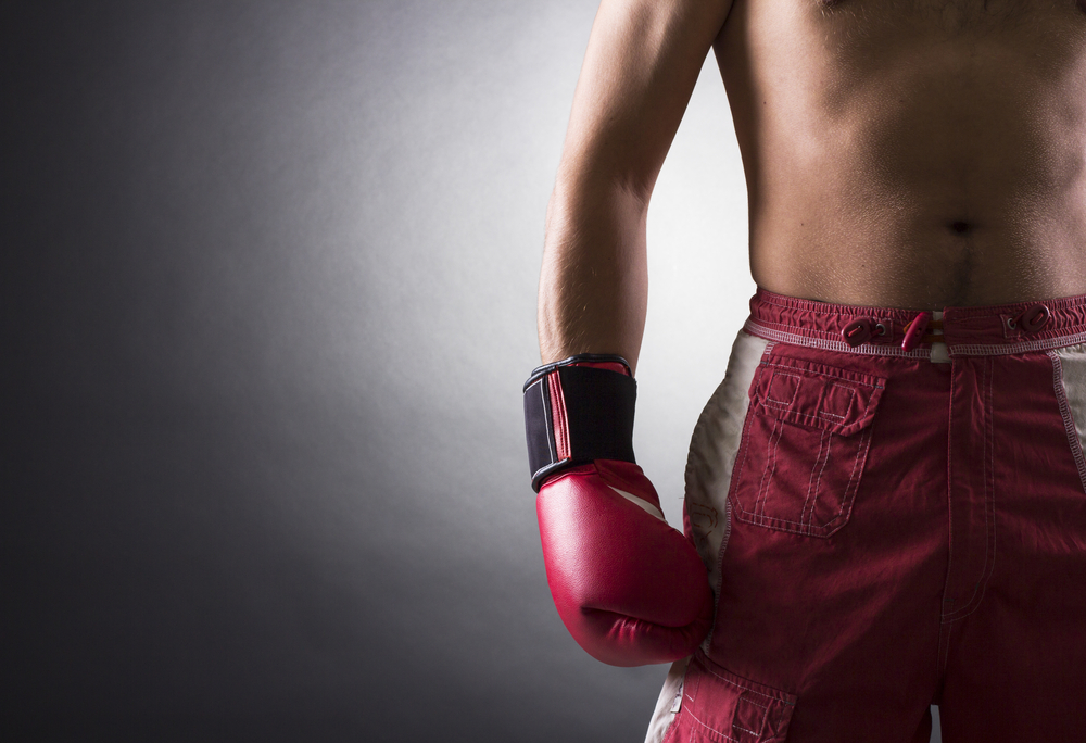 Juan Antonio Mercado pelea en la categoría de75 kilos.