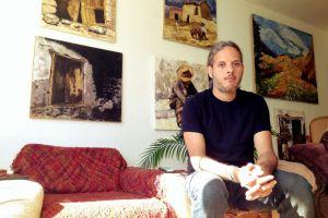 Claudio Talavera Ballón en SF Open Studios