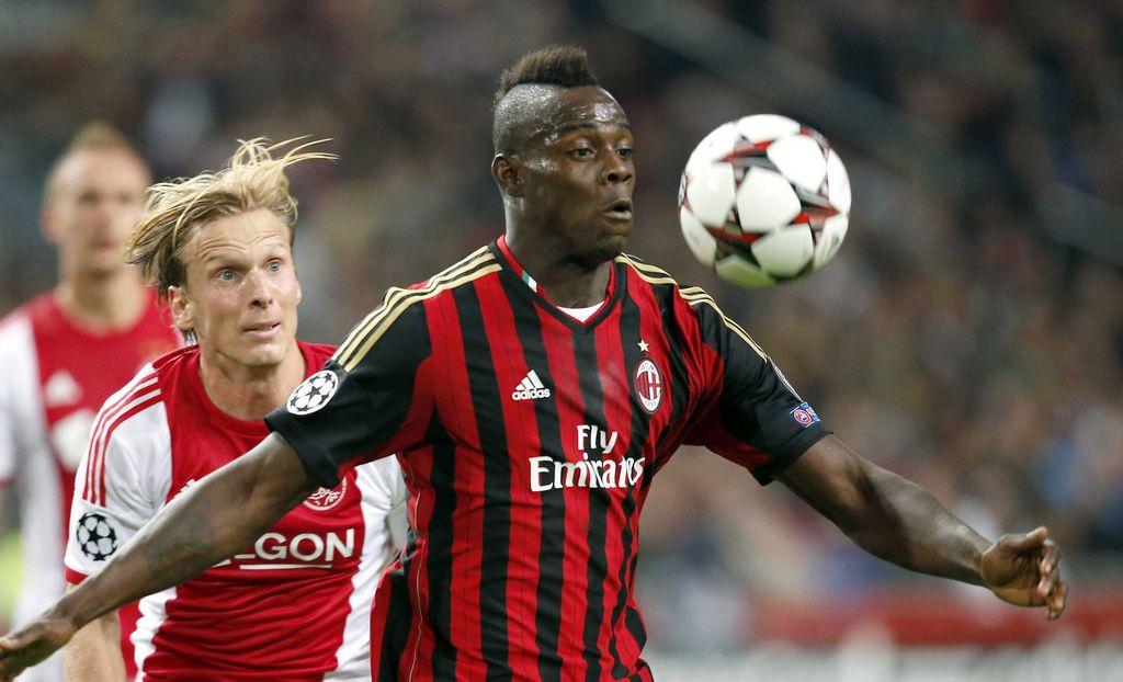 Balotelli es baja en el Milan por lesión