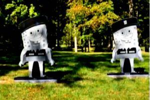Quitan lápida de Bob Esponja a tumba de soldado en Ohio