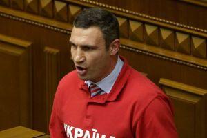 Vitali Klitschko buscará presidencia de Ucrania