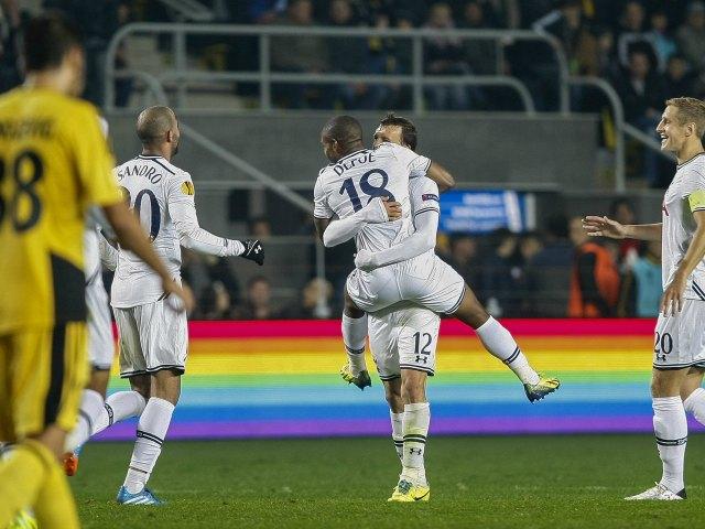 Tottenham sigue imparable en la Liga Europa (Video)