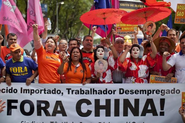 Protestan contra las importaciones chinas
