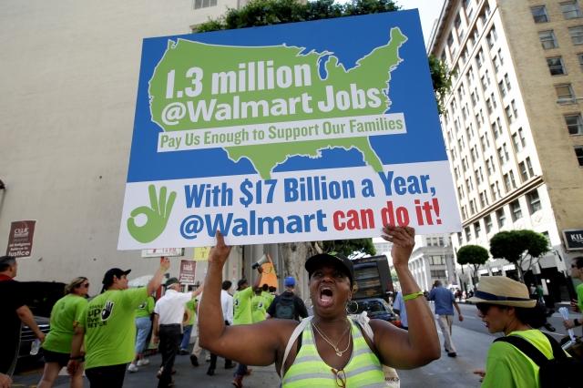 Trabajadores exigen mejores sueldos
