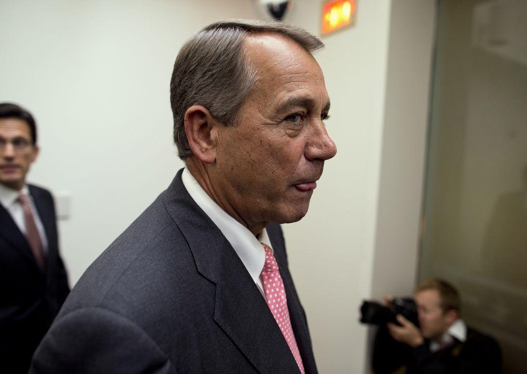 "Boehner reitera rechazo a ""masiva"" reforma migratoria"