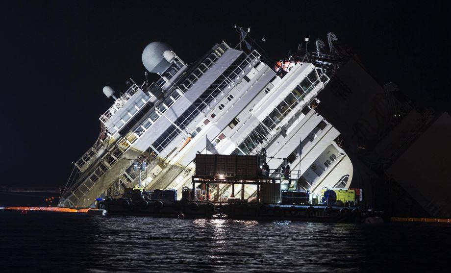 Identifican restos hallados en Costa Concordia