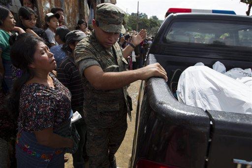 Cuatro jóvenes secuestrados y asesinados en Honduras