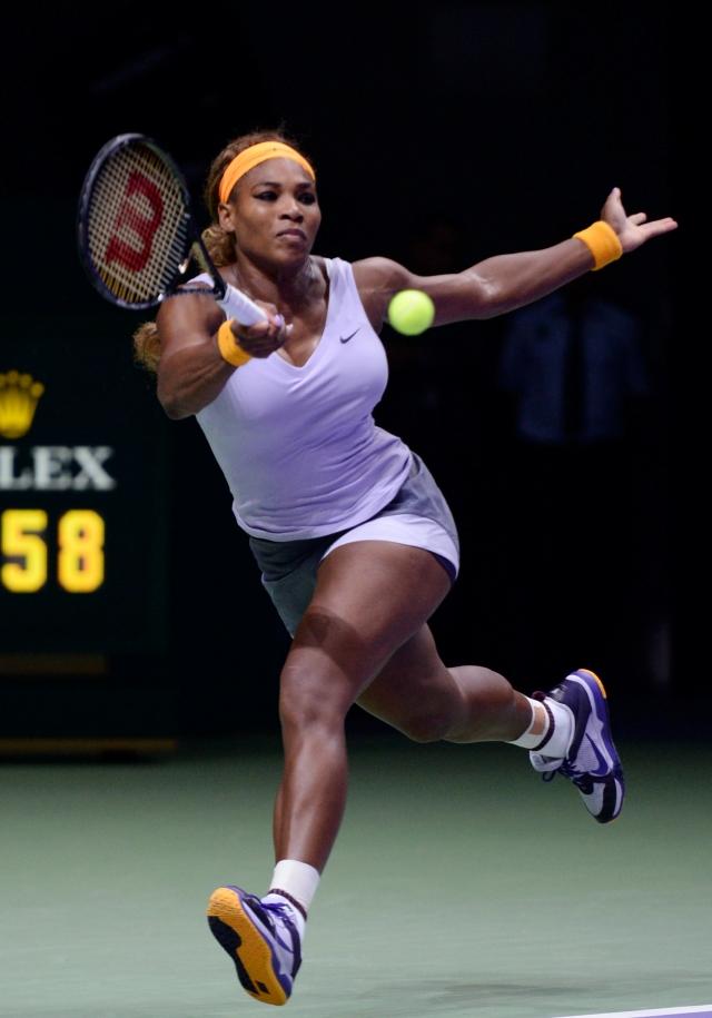 Serena cierra intacta