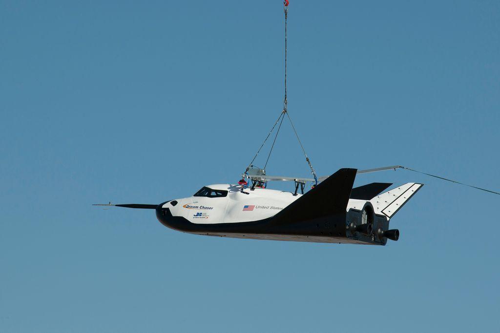 No descartan realizar otras pruebas con este modelo del Dream Chaser.