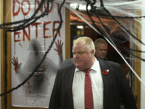 El alcalde de Toronto, Rob Ford, no piensa renunciar al cargo.