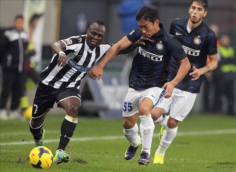 El Inter gana y va tras el Juventus, Nápoles y Roma (Video)