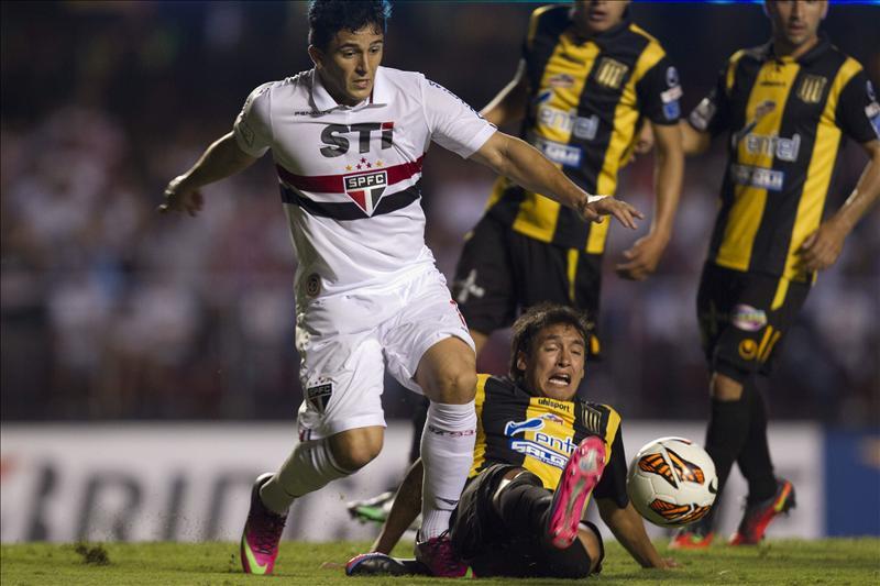 El Sao Paulo listo para enfrentar al Atlético Nacional en Medellín