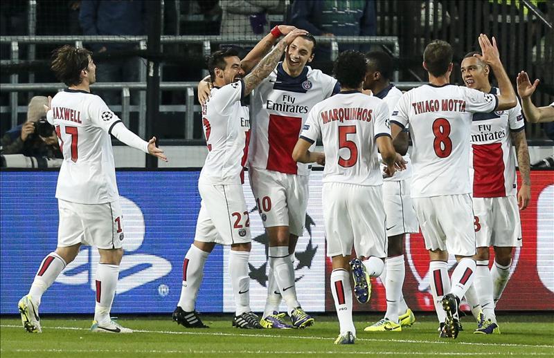 El PSG a firmar su clasificación para octavos ante el Anderlecht