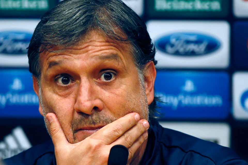 Martino ironiza con la racha del Barcelona