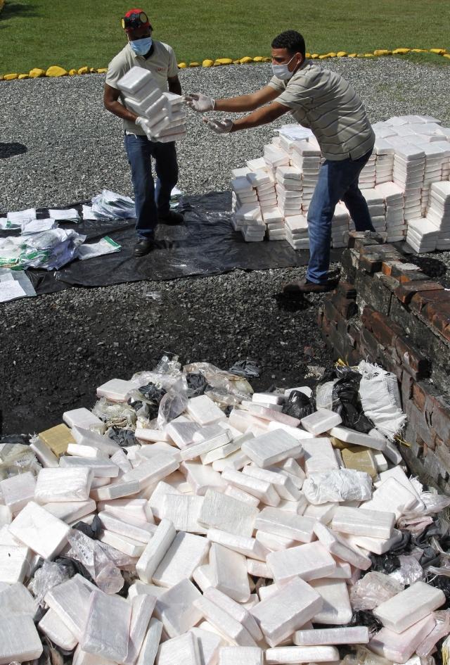 Aumenta el narcotráfico  en el Caribe