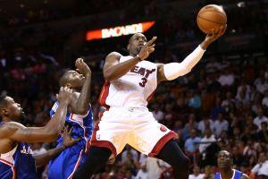 Wade recordó que es estrella y dio triunfo a Miami Heat